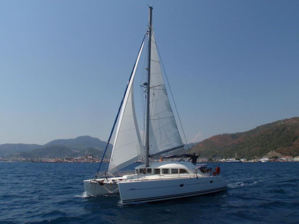 Boot - Unter Segeln