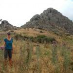 Wanderweg Gipfel