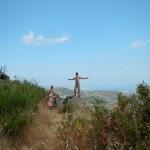 Wanderweg Kai auf Stein