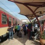 Ankunft Bahnhof