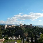 Blick auf Alhambra