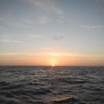 3erster Sonnenuntergang