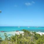 Blick von Green Island auf unser Boot