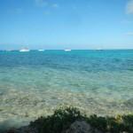Blick von Green Island auf unser Boot1