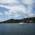 Hurricane Silence in Port Egmont